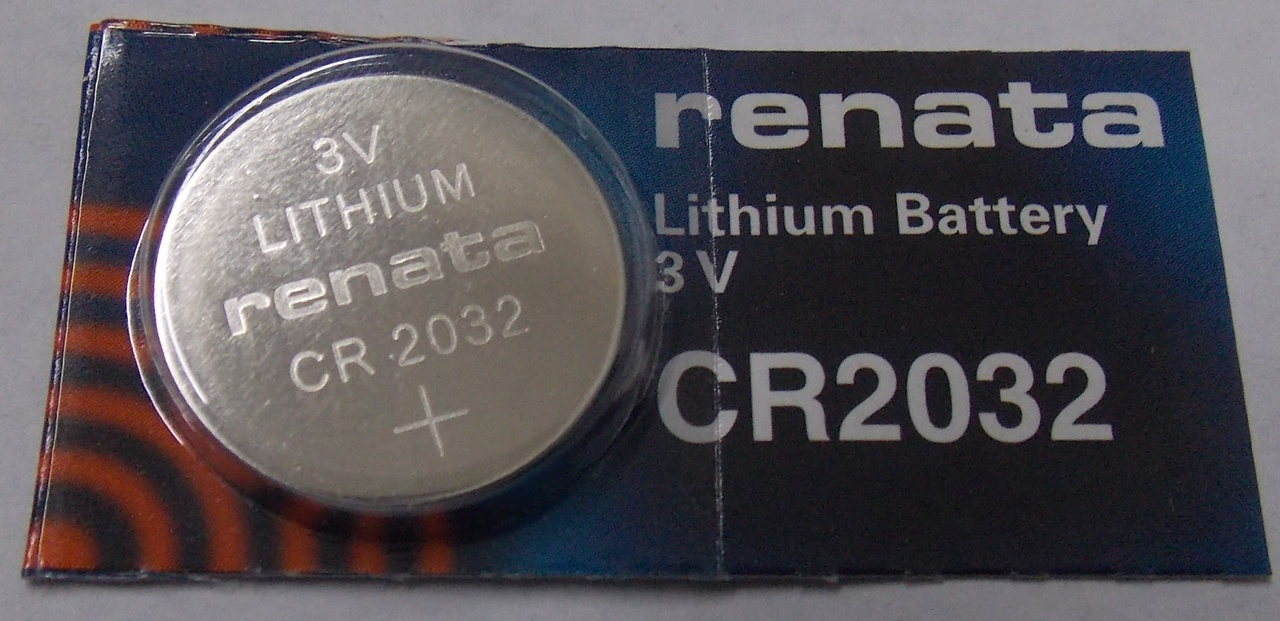 Renata CR2032 3V Lithium Coin Battery