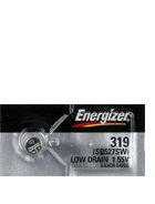 Energizer 319 - SR527 Silver Oxide Button Battery 1.55V 50 Pack + FREE SHIPPING!