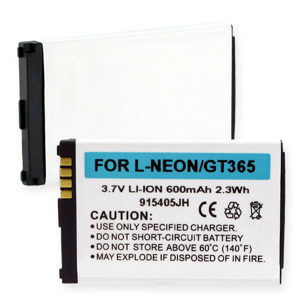 LG GT365 And NEON LI-ION 600mAh Cellular Battery