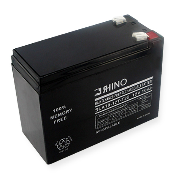 Sealed Lead Acid Battery 12V 10Ah W/wide Terminals