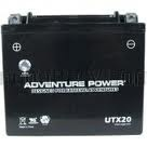 YTX20 12 Volt 18 Amp Hrs Sealed AGM Power Sport Battery