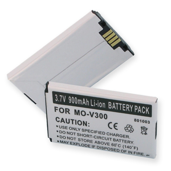 MOTOROLA V300 LI-ION 900mAh Cellular Battery