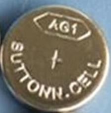 AG1 / LR621 Alkaline Button Watch Battery 1.5V