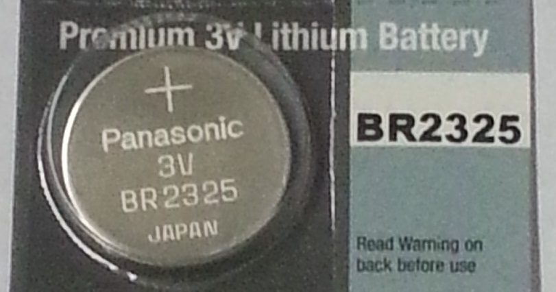 Panasonic BR2325 3V Lithium Coin Battery