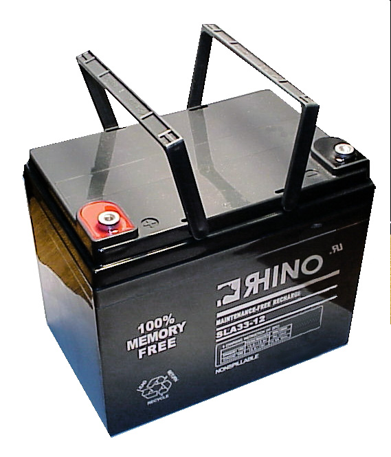 Sealed Lead Acid Battery 12Volt  35Ah (Screw Connectors) + FREE SHIPPING