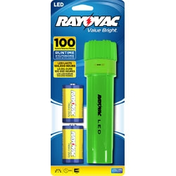 Rayovac Value Bright LED 2D Plastic Flashlight + FREE SHIPPING!