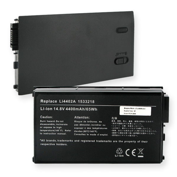 GATEWAY 14.8V 4400mAh Li-ION Laptop Battery