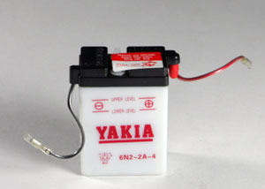 6 Volt 2 AMP Motorcycle And Power Sport Battery (6N2-2A-4)