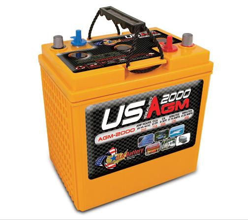 Deep Cycle AGM 213AH 6  Volt Battery
