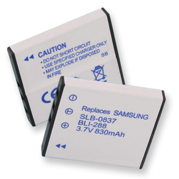 SAMSUNG SLB-0837 LI-ION 830mAh Digital Battery