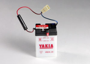 6 Volt 2 AMP Motorcycle And Power Sport Battery (6N2-2D)