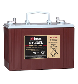 Trojan Gel Deep Cycle  Battery 12V 102Ah Group Size 31