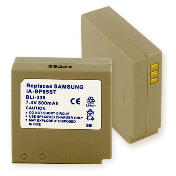 SAMSUNG IA-BP85ST LI-ION 800mAh Video Battery