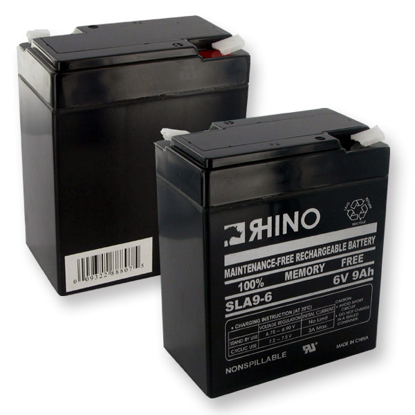 Sealed Lead Acid Battery 6 Volt 9 Ah + Shipping - Only $4.99