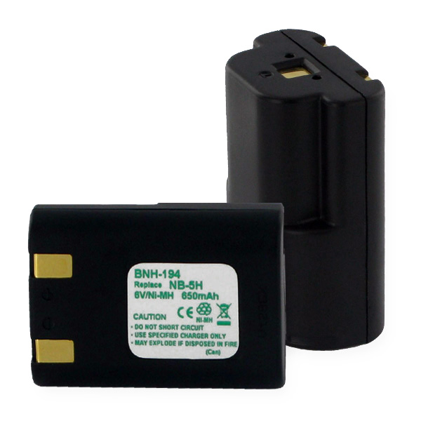 CANON BATTERY NB5H (NMH) 7.2V Digital Battery
