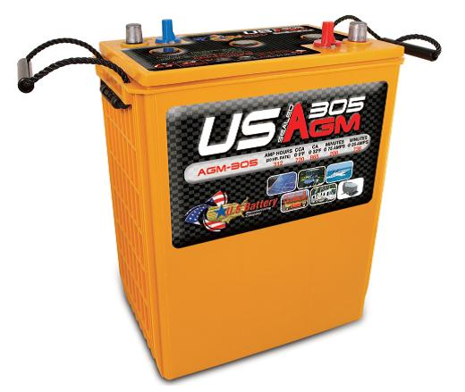 Deep Cycle AGM 312AH 6  Volt Battery