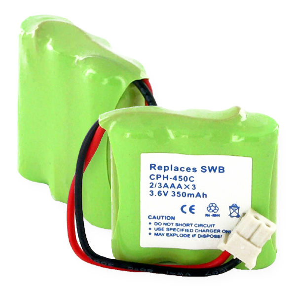 1x3-2 And 3AAA NiMH 350mAh And C CONNECTOR Cordless Battery