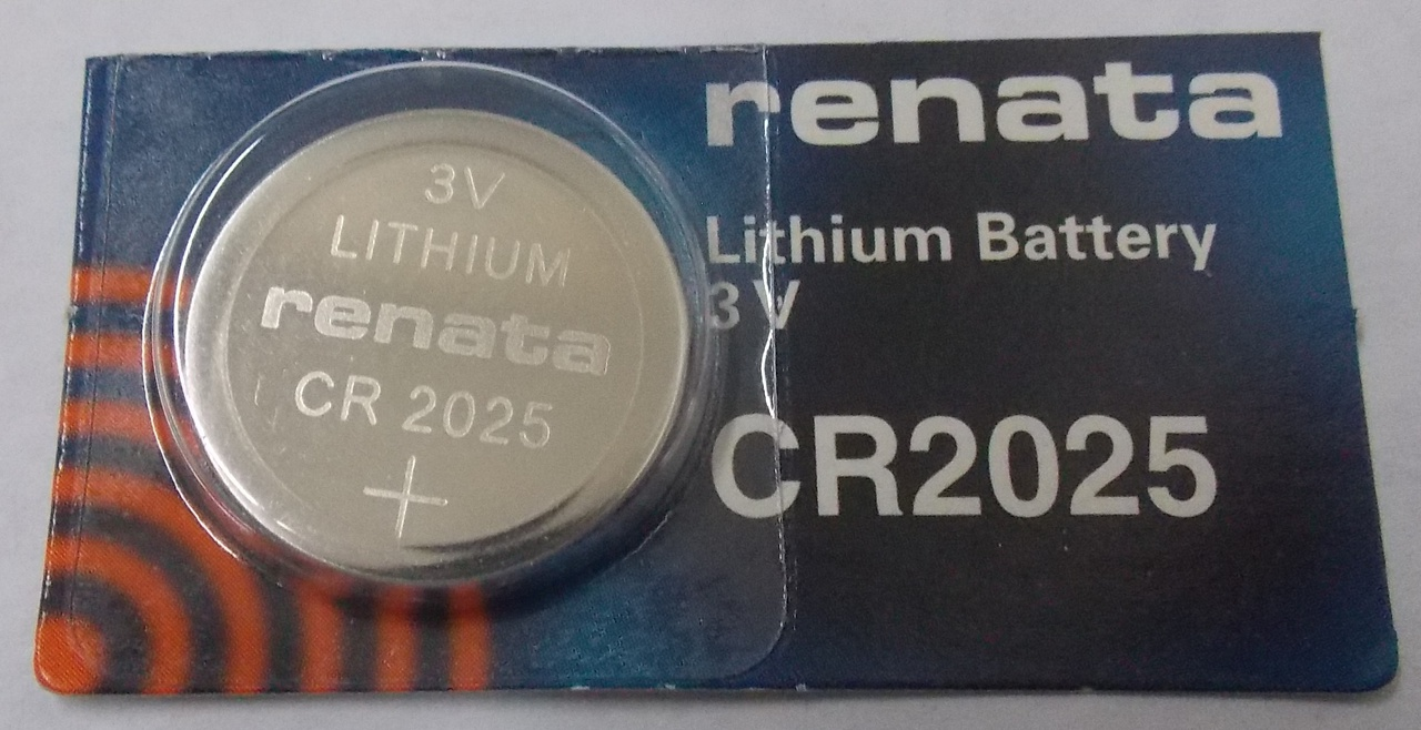 Renata CR2025 3V Lithium Coin Battery