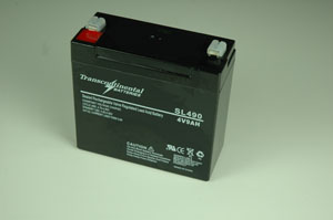 SLA 5AH 4 Volt  Battery