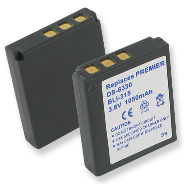 VIVITAR 6330 And 8330 LI-ION 1050mAh Video Battery