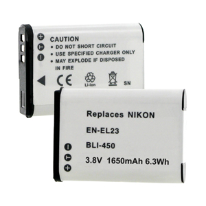 NIKON EN-EL23 3.8V 1650MAH Digital Battery + FREE SHIPPING