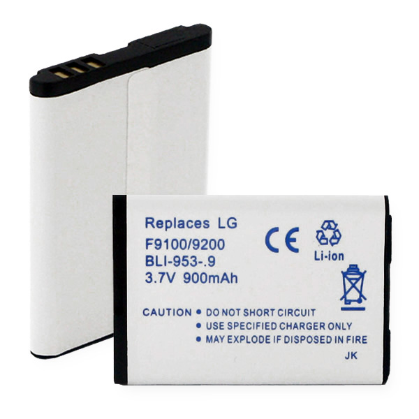 LG F9100 And 9200 LI-ION 900mAh Cellular Battery
