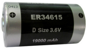 Titus D Size 3.6V ER34615FAX Lithium Battery With Axial Wire Leads - 8 Pack + Free Shipping!
