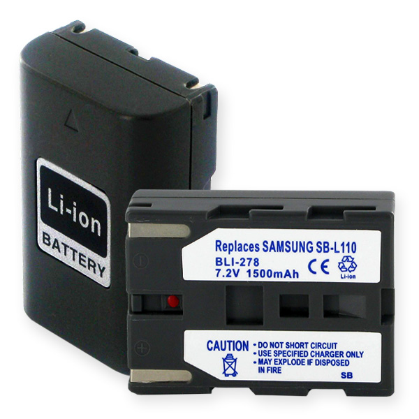 SAMSUNG SB-LS110 LI-ION 1.5Ah Video Battery