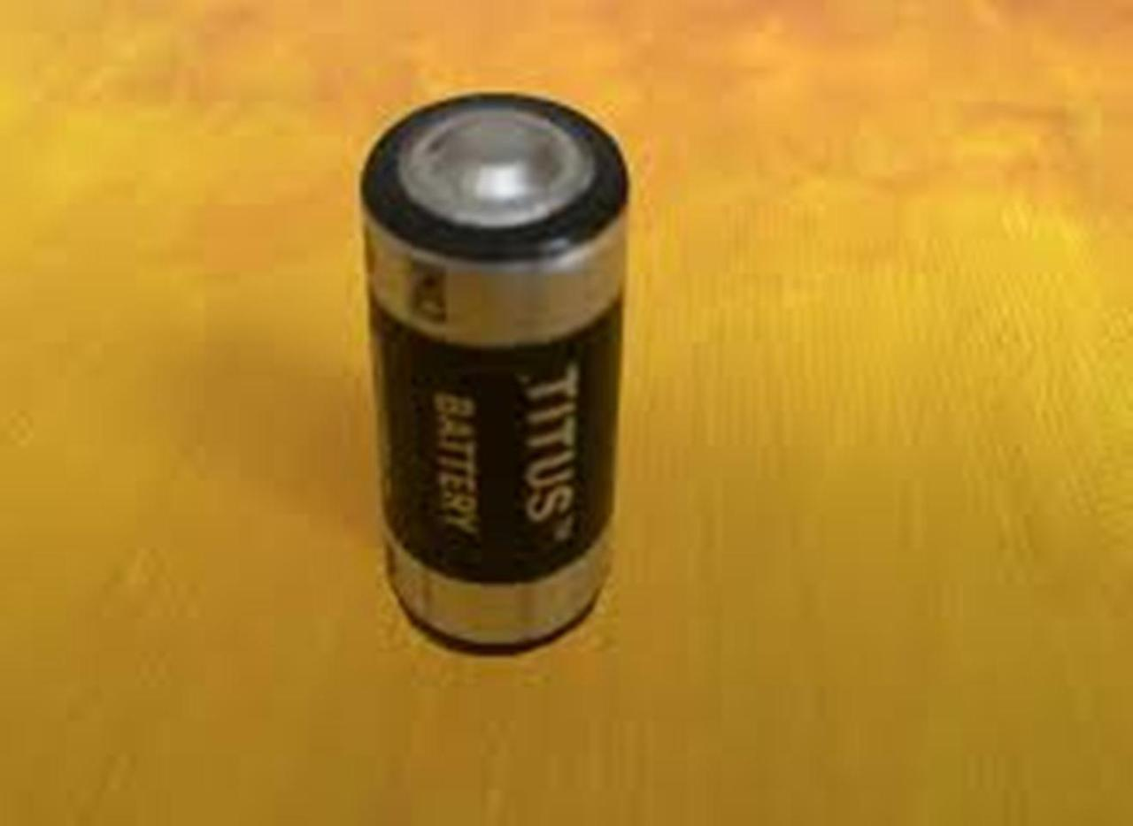Titus 2/3AA Size 3.6V ER14335T Lithium Battery With Solder Tabs - 10 Pack + Free Shipping!