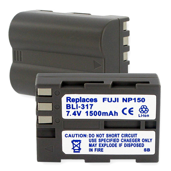 FUJI NP-150 LI-ION 1500mAh Video Battery