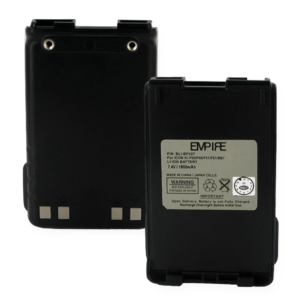 ICOM IC-F50 LI-ION 1900mAh Two-way Battery