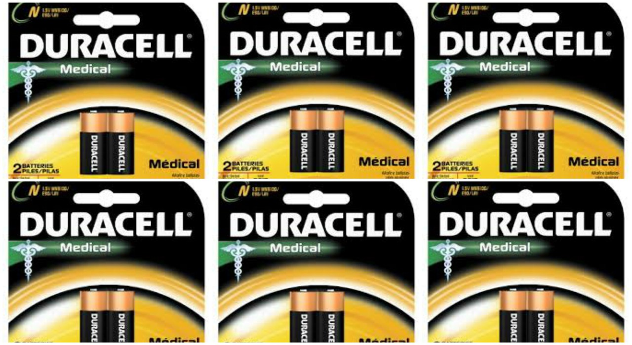Duracell Medical E90 N Size 1.5V LR1 -12 Pack + FREE SHIPPING!