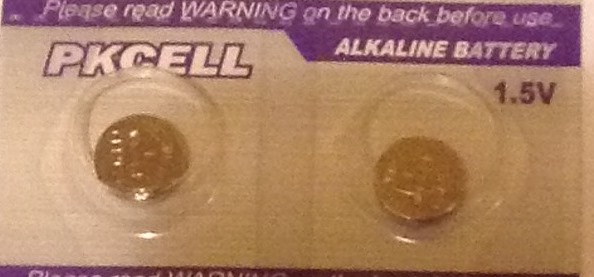 AG11 / LR721 Alkaline Button Watch Battery 1.5V - 2 Pack - FREE SHIPPING