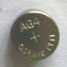 AG4 / LR626 Alkaline Button Watch Battery 1.5V