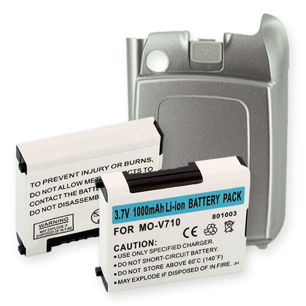 MOTOROLA V710 LI-ION 1Ah And SLV COVER Cellular Battery