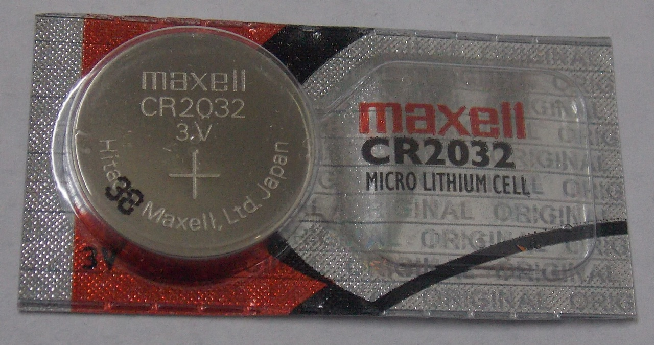 Maxell CR2032 3 Volt Lithium Coin Battery