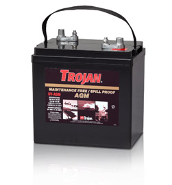 Trojan AGM Deep Cycle Battery 6V 200Ah Group Size GC2
