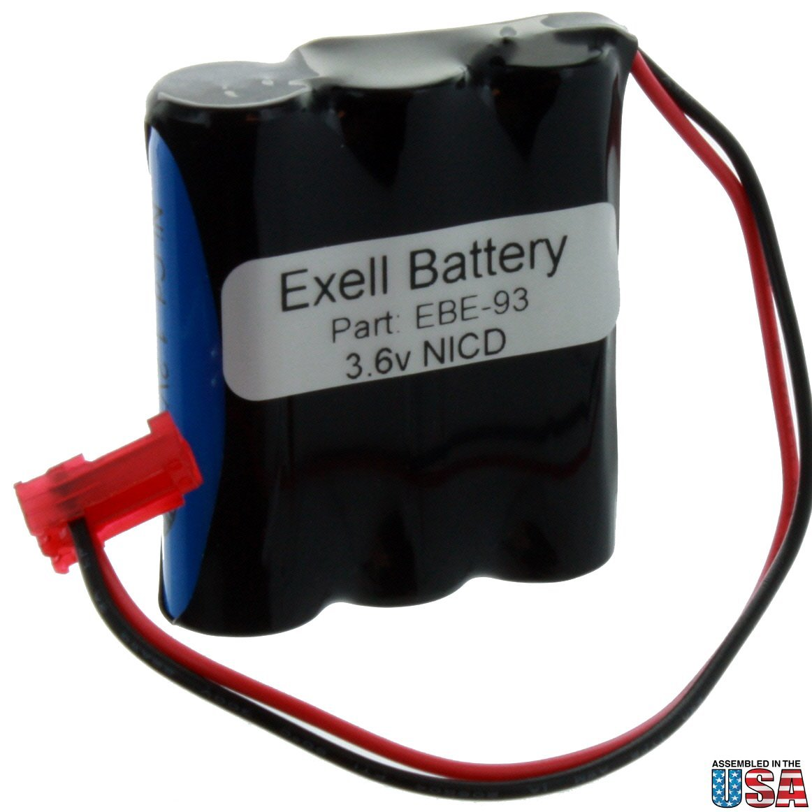 EBE-93 3.6V NICD Battery For Emergency Lights 026-148 + Free Shipping